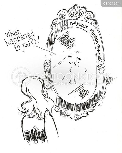 magic mirrors cartoon