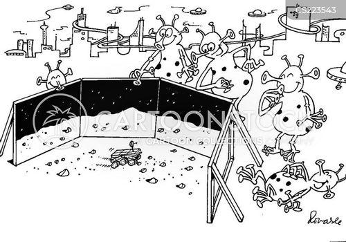 lunar lander cartoon