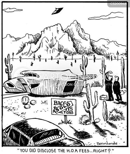 property sales cartoon