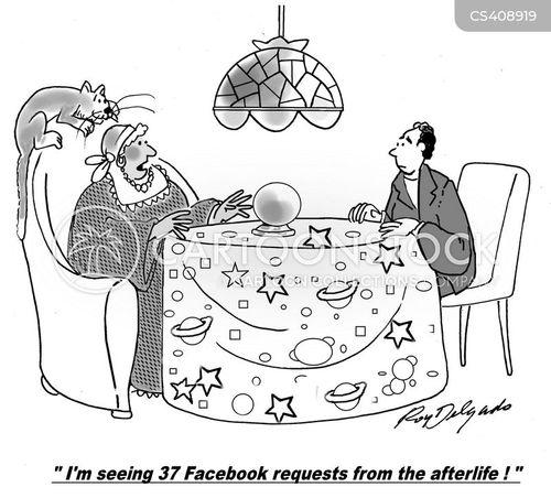 friend requests cartoon