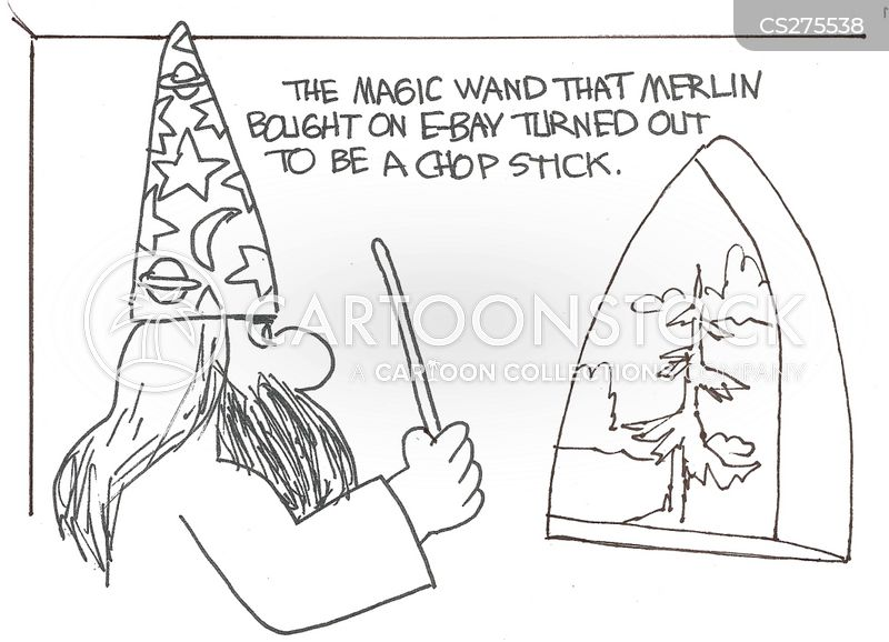 on-line purchases cartoon