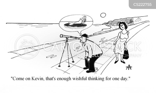wishful thought cartoon