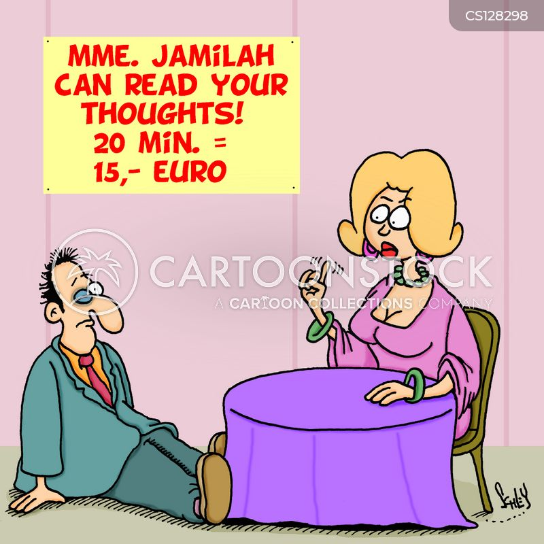 mind reading cartoon