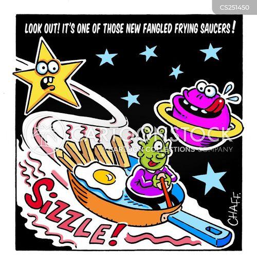 space creatures cartoon
