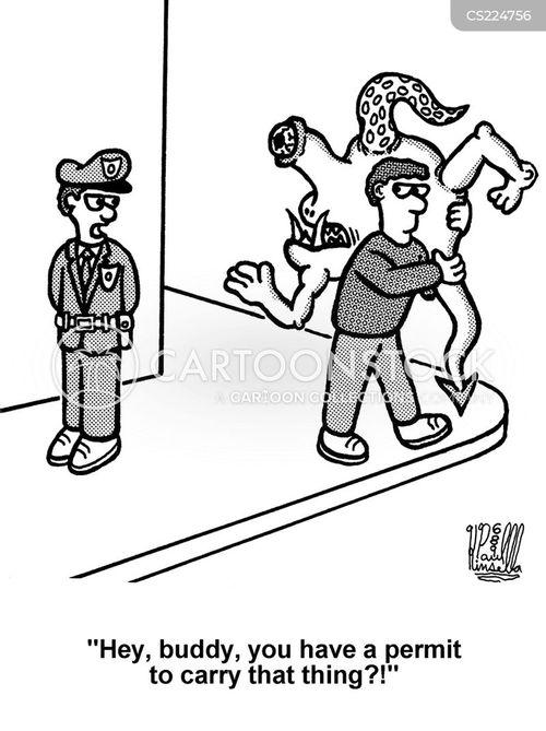 licences cartoon