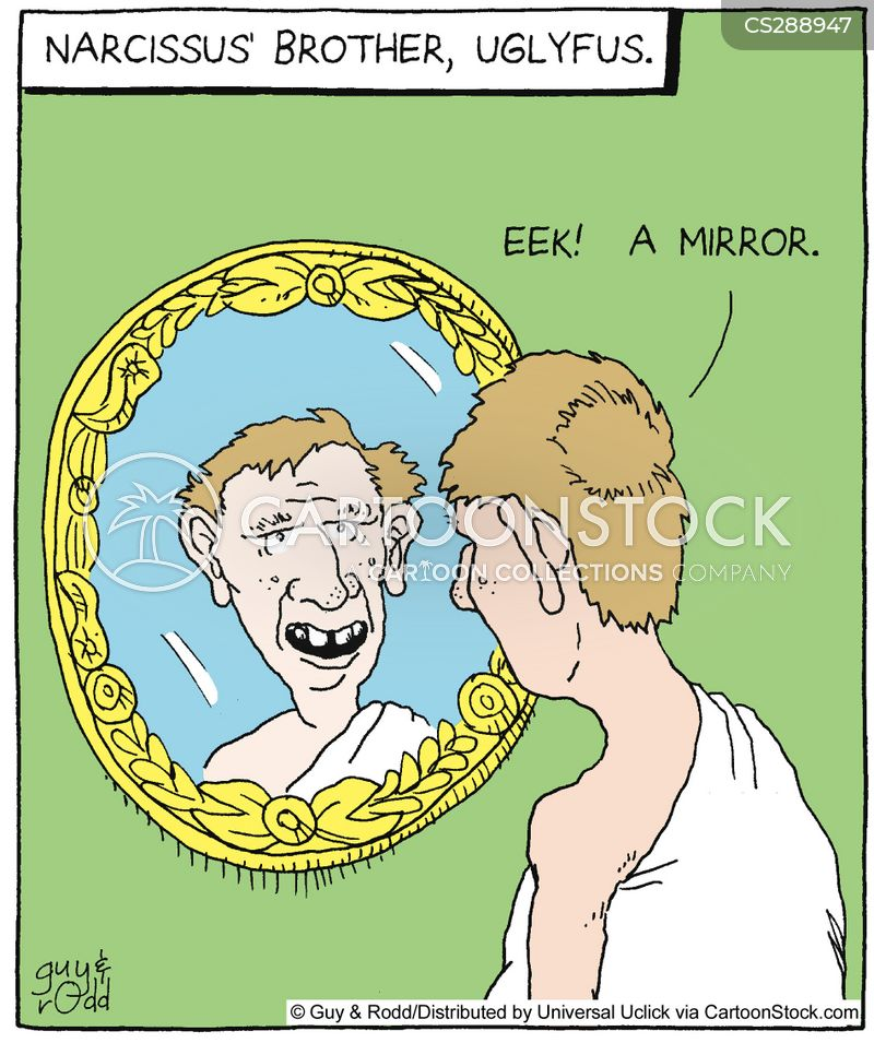 narcissus cartoons and comics funny pictures from cartoonstock