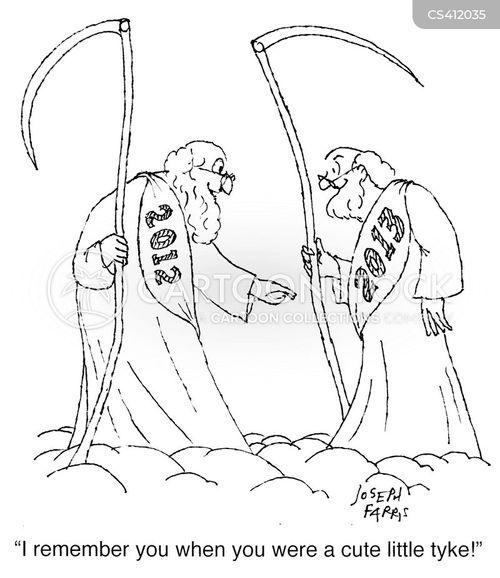 mythical figures cartoon