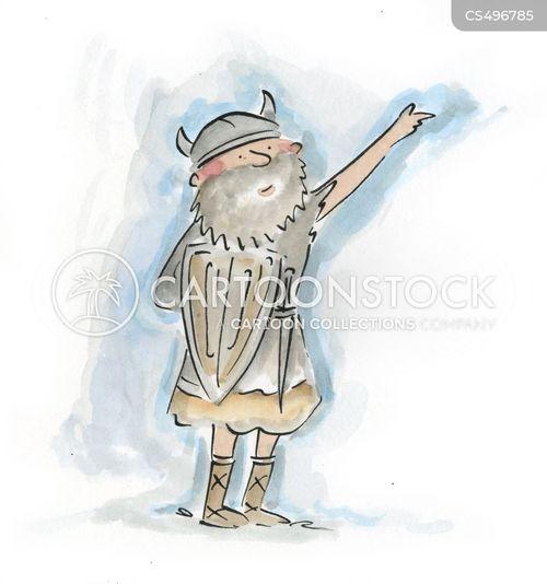 norse god cartoon