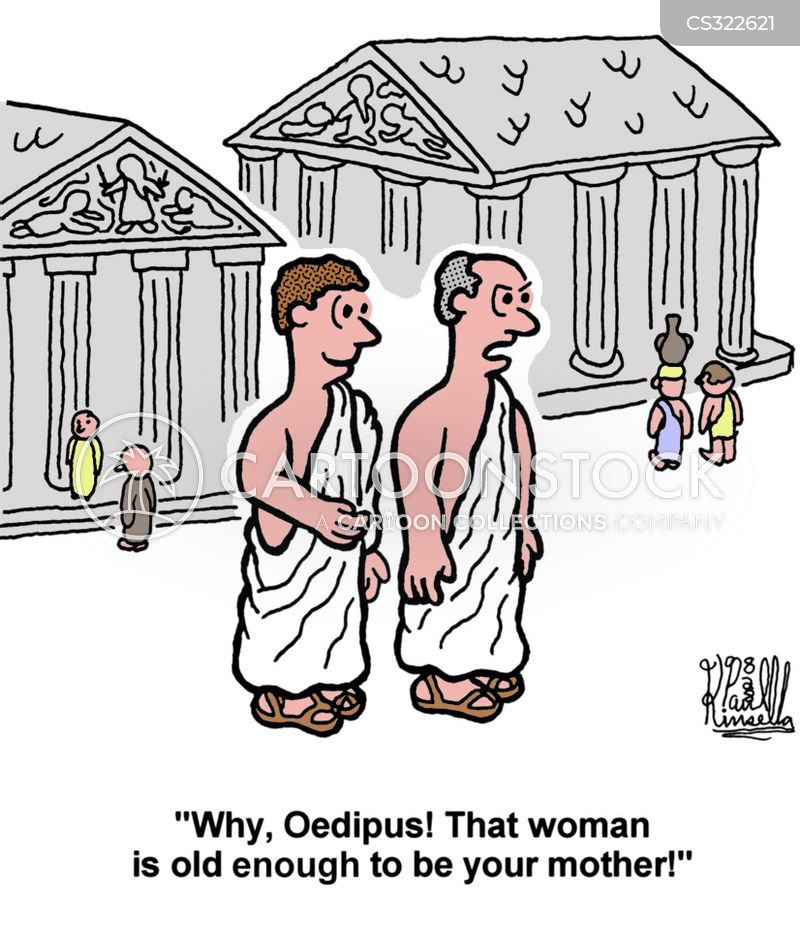 oedipus complex cartoon