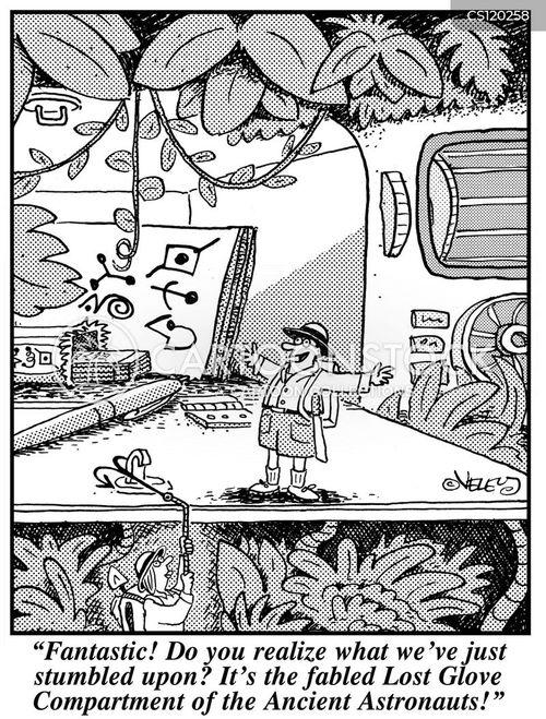 paranormal cartoon