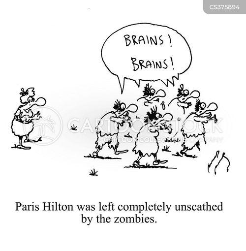 no brains cartoon
