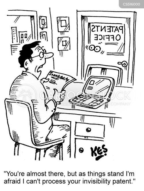 patented cartoon