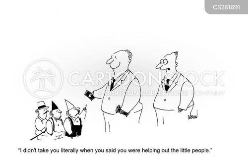 little person cartoon