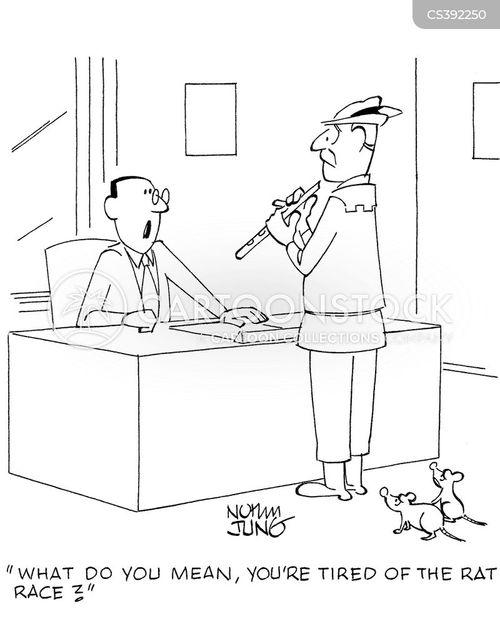 job changes cartoon