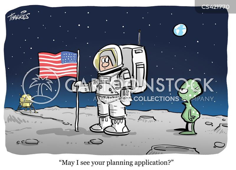 planning application cartoon