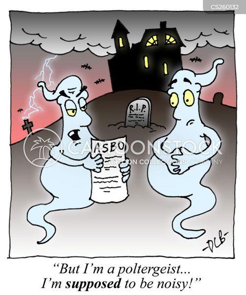 poltergeists cartoon