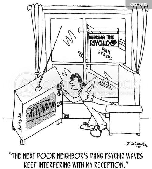 tv signals cartoon