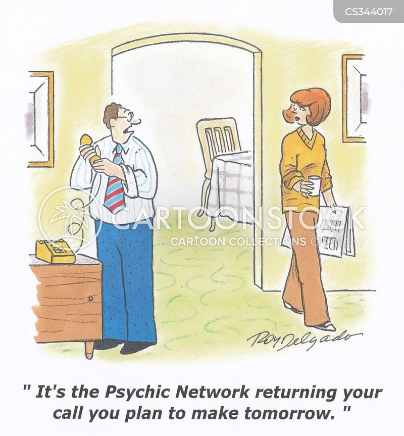 telepathy cartoon