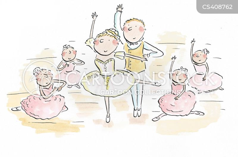 ballet recital cartoon