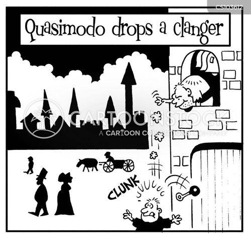 drop a clanger cartoon