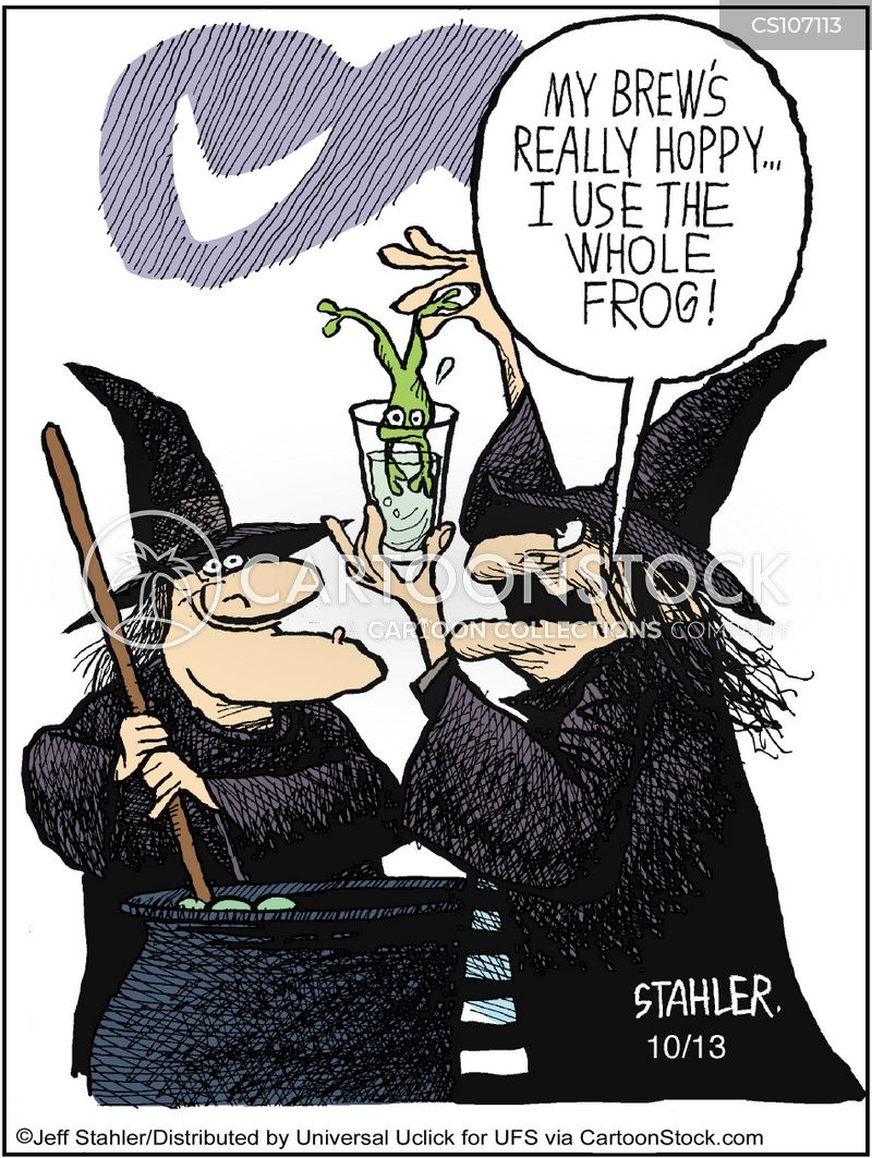 magic potions cartoon