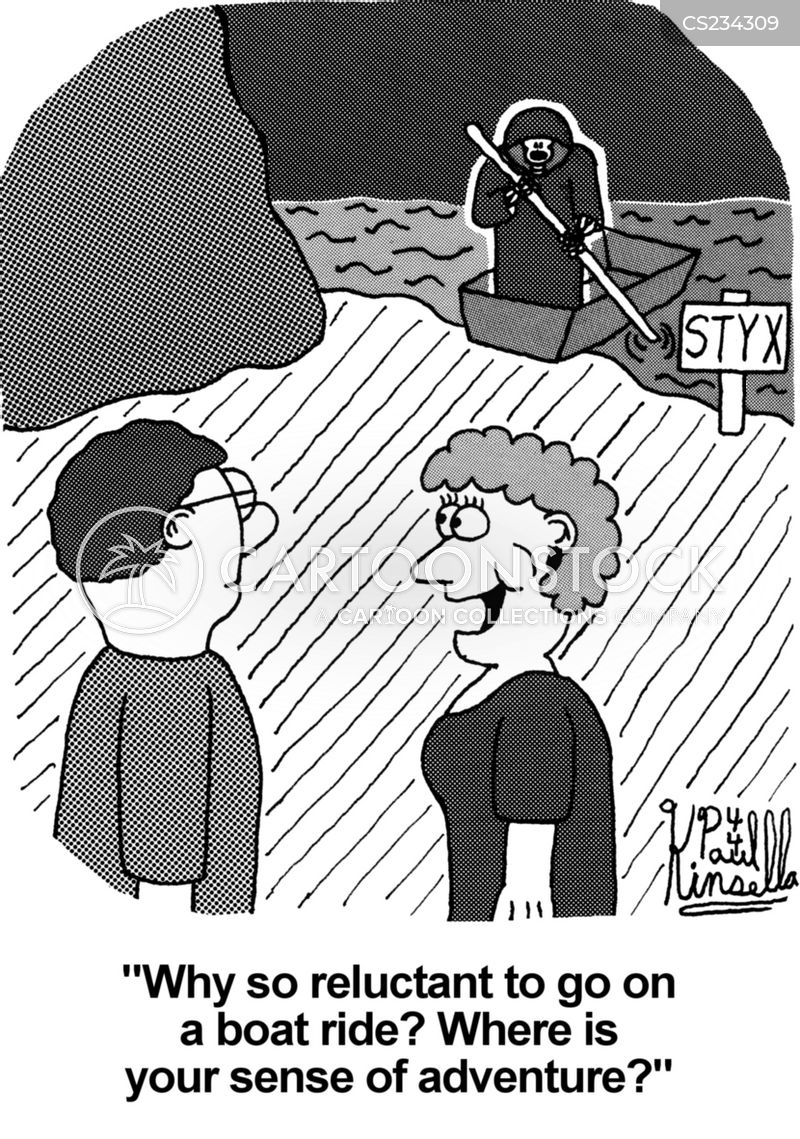 river styx cartoon