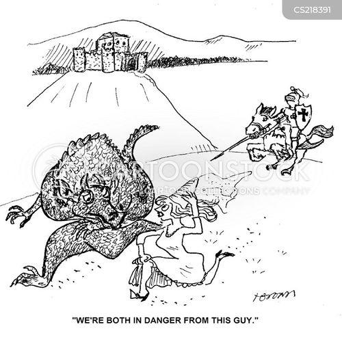 distressed cartoon