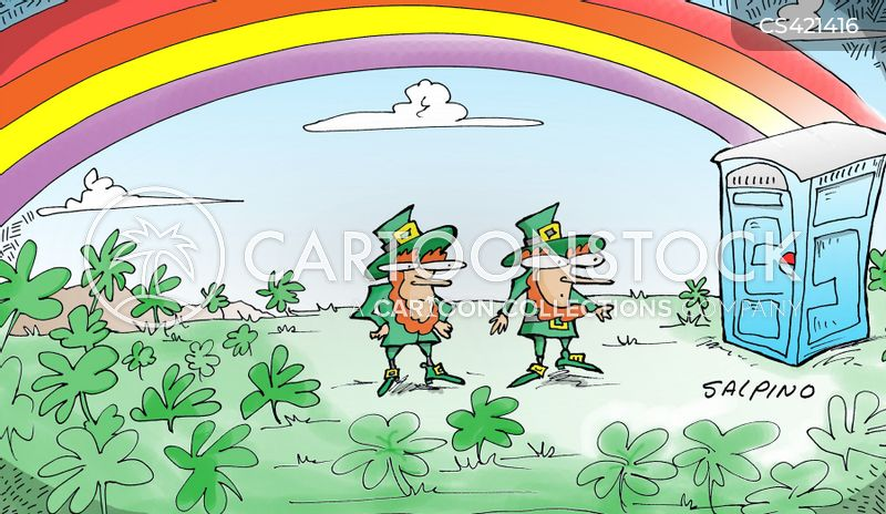 Irish Myths Cartoons and Comics - funny pictures from