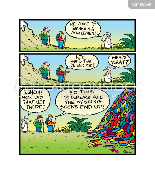 shangri-la cartoon