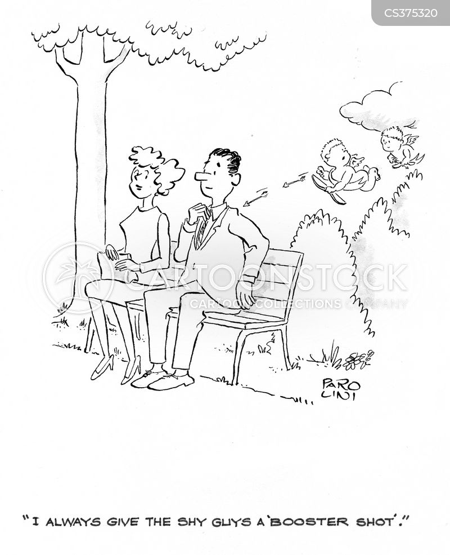 shyly cartoon
