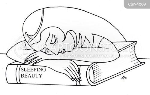 sleepiness cartoon