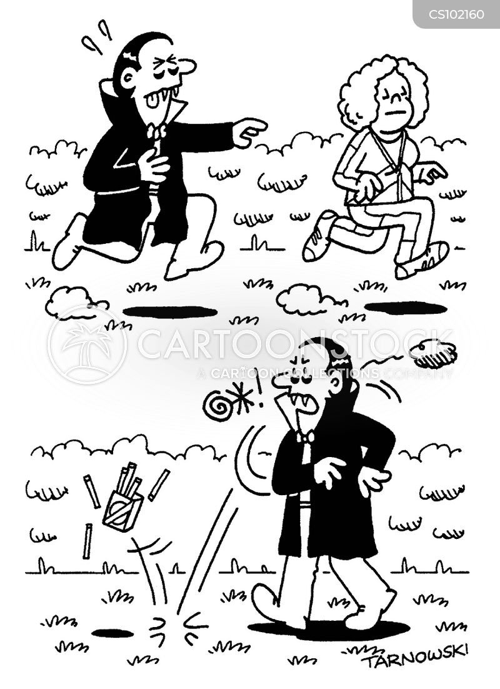 health and fitness cartoon