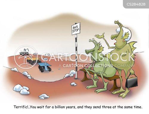 mars rover cartoon