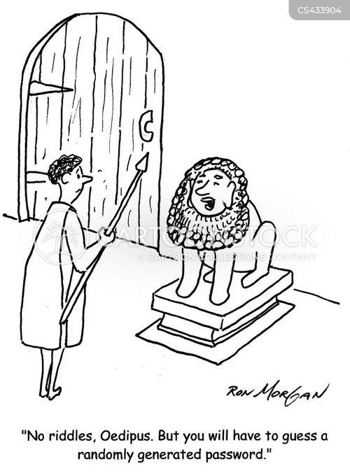 sophocles cartoon