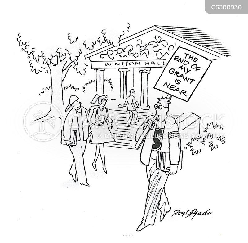 government funds cartoon