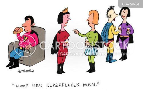 superfluous cartoon