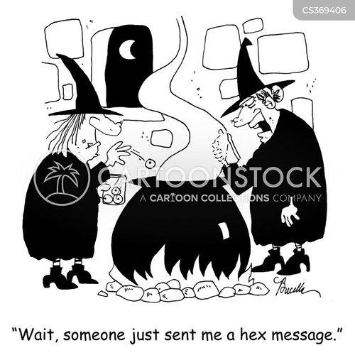 hex cartoon