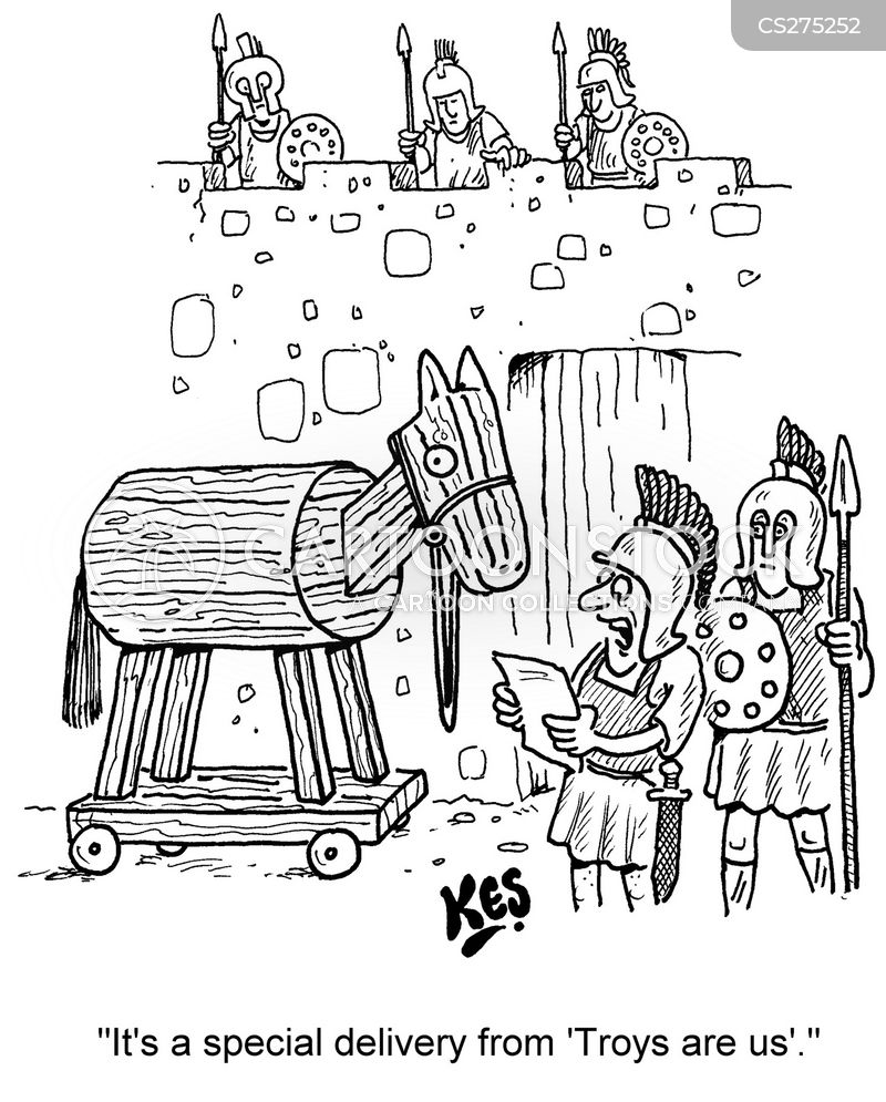 achilles cartoon
