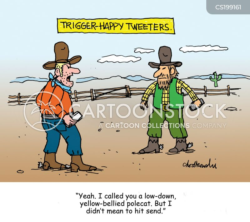 dueler cartoon