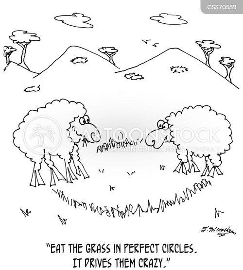 crop circles cartoon