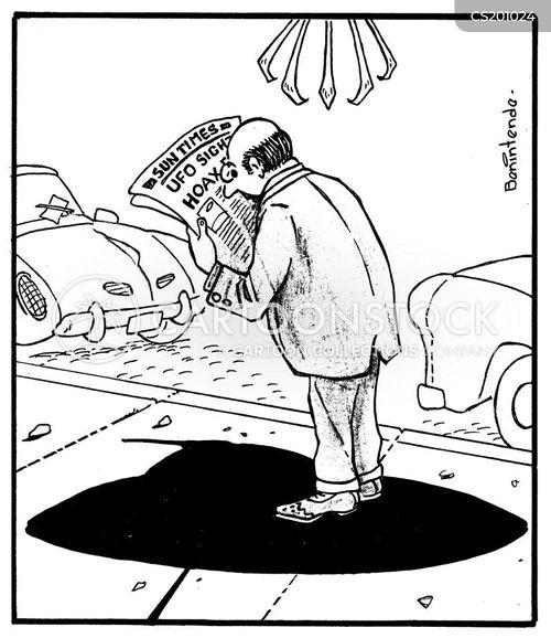 hoax cartoon