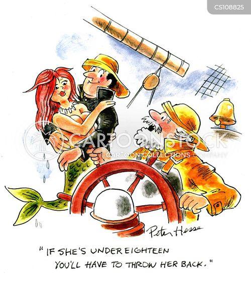 under age cartoon
