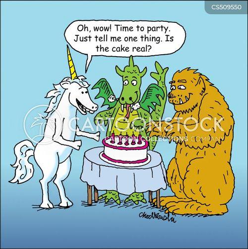 mythological animals cartoon