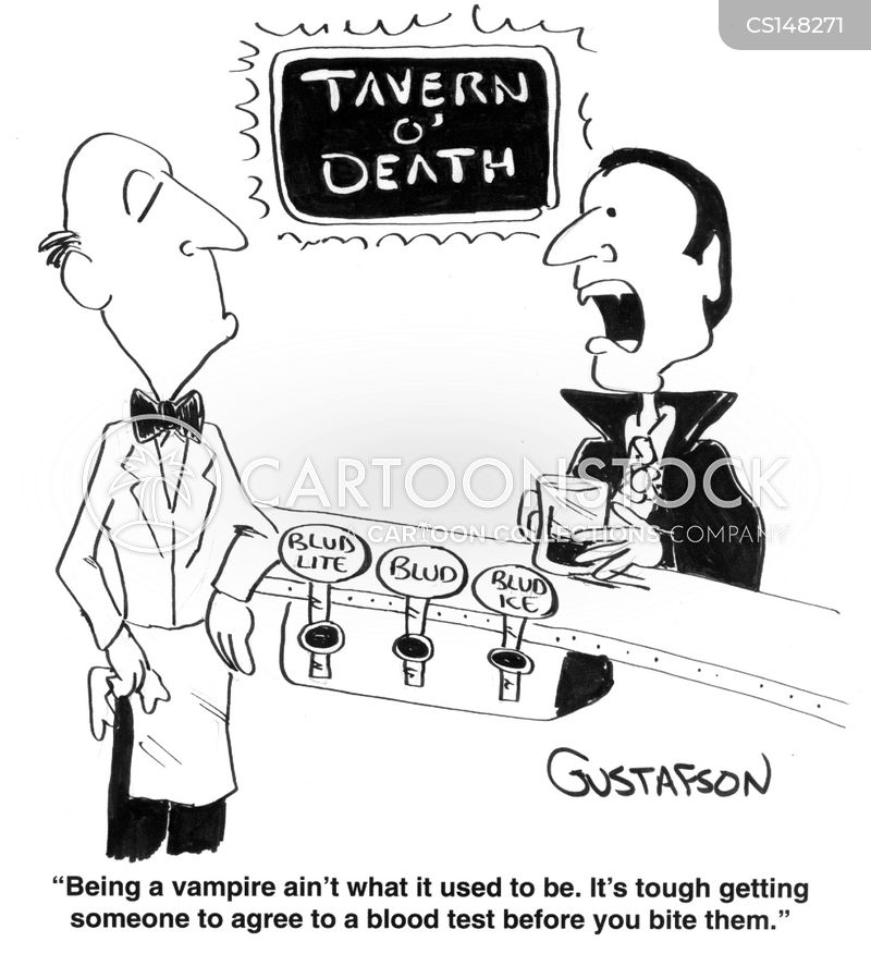 drinking blood cartoons and comics funny pictures from