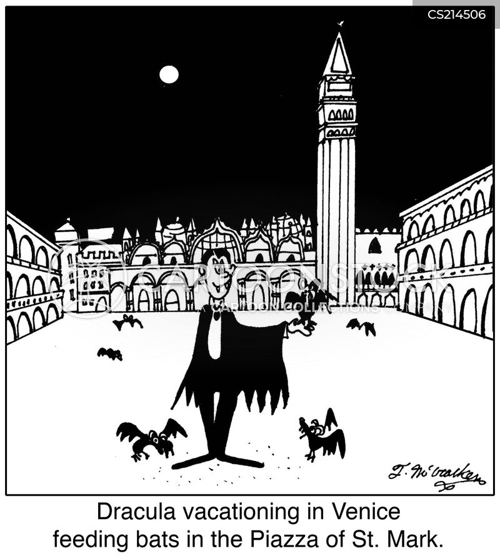 european holiday cartoon