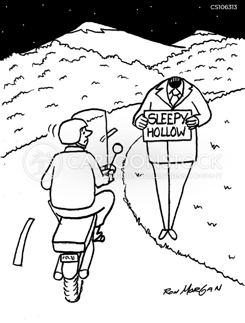 hitch-hiking cartoon