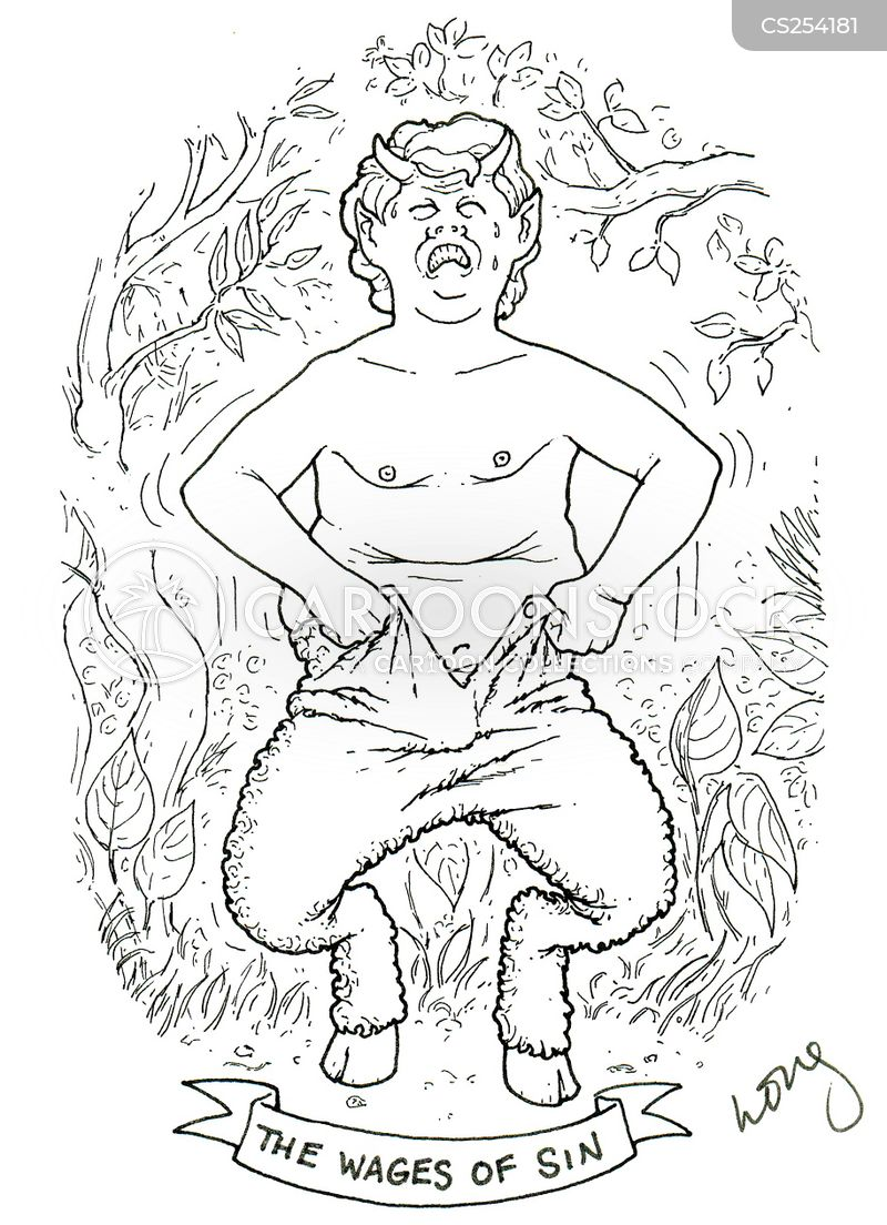 satyr cartoon
