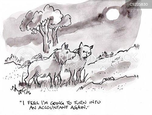 wolf packs cartoon
