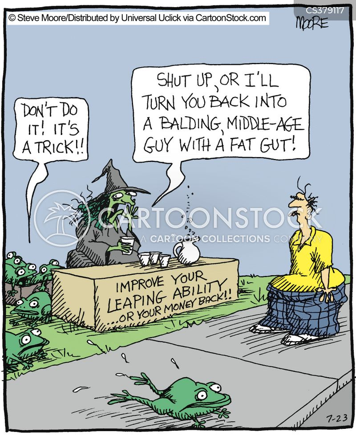 leaps cartoon