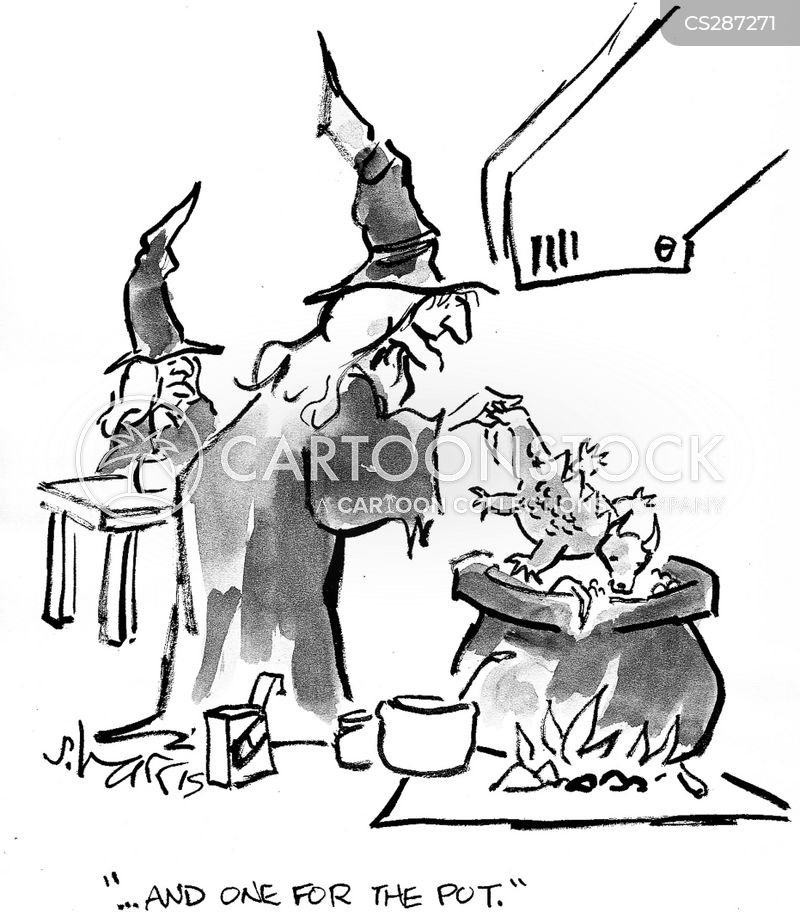 Witch S Potion Cartoons And Comics Funny Pictures From
